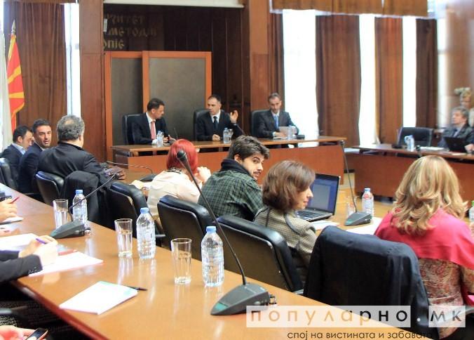 Студентите и МОН се согласија за нов закон за високо образование