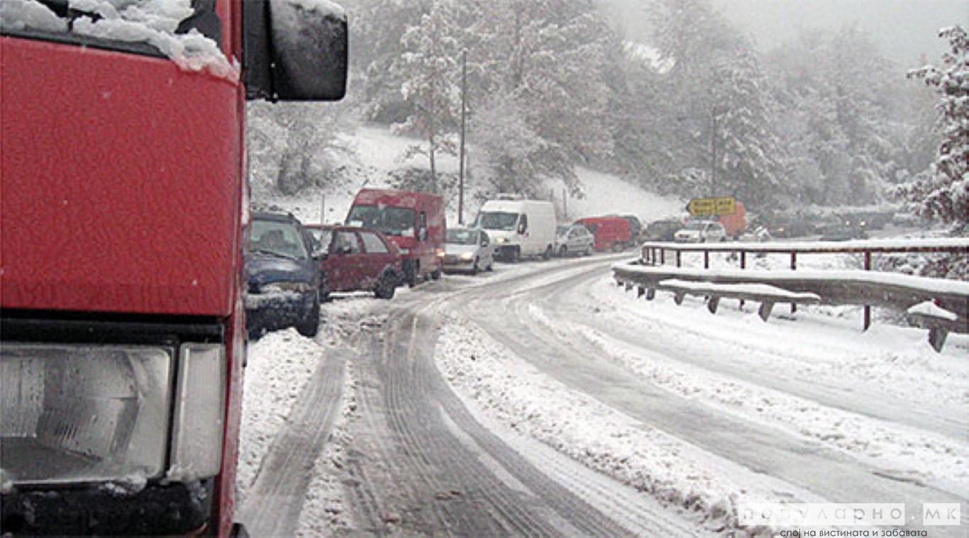 Забрани за камиони и автобуси на дел од патиштата