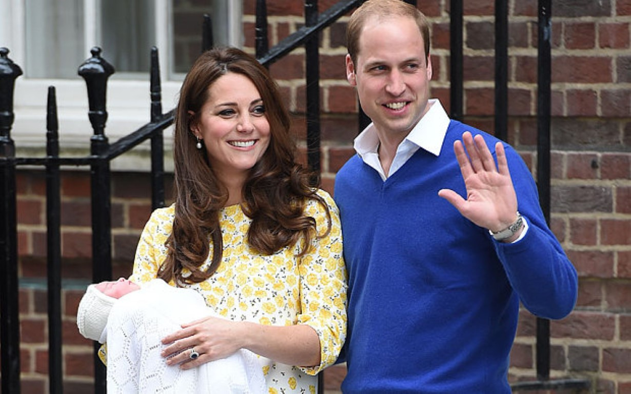 Нова принцеза во британското кралско семејство: Kејт Миделтон роди ќерка