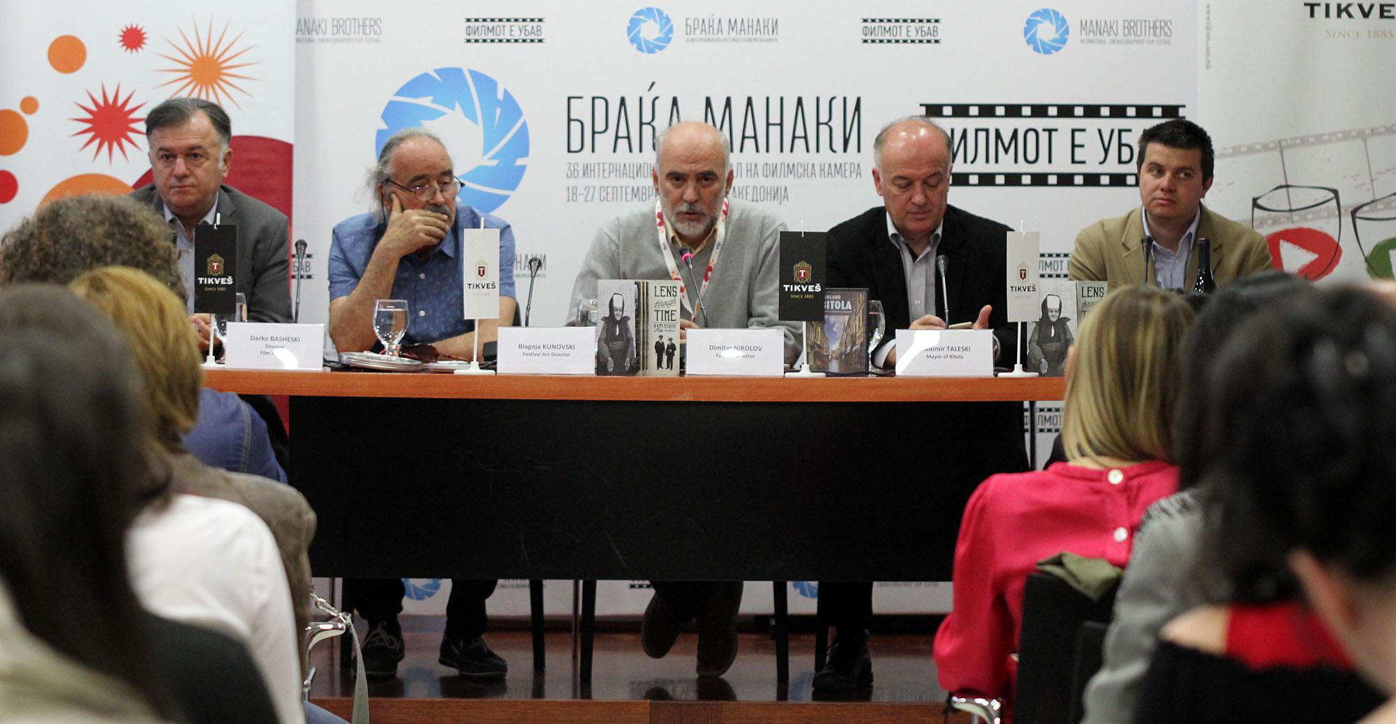 """ИФФК """"Браќа Манаки"""" од 18 до 27 септември во Битола"""