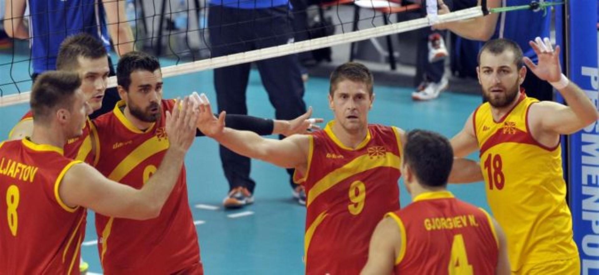 Македонските одбојкари со 3:0 изборија финале во Европската лига