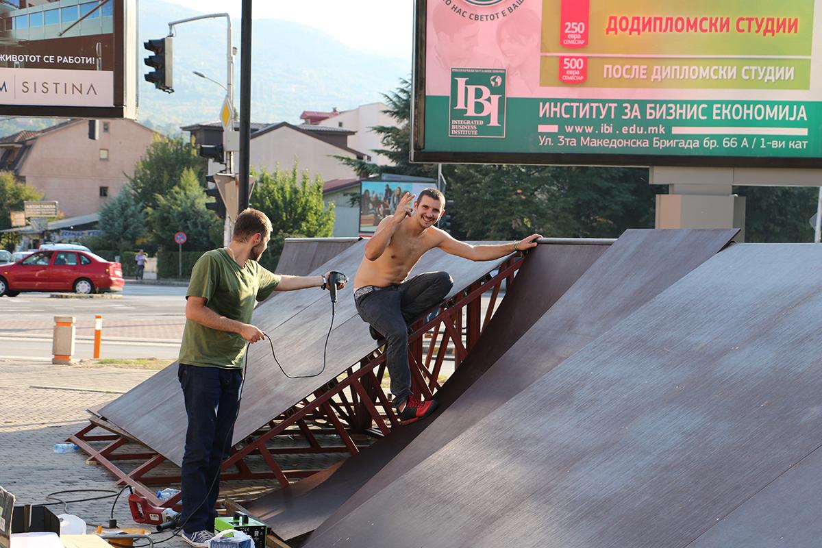 В петок во Скопје егзибиции и акробации со велосипеди!