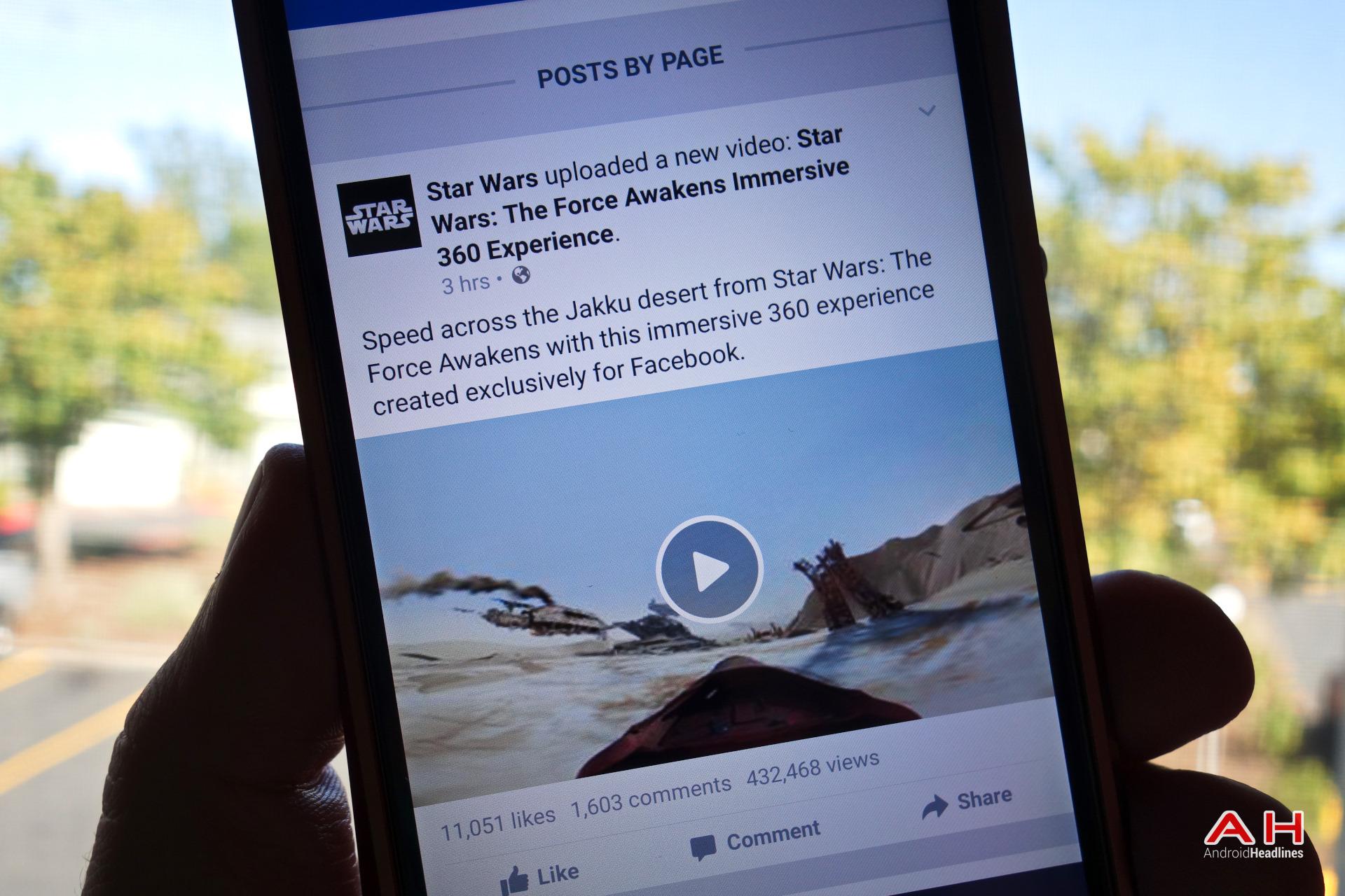 """""""Фејсбук"""" со нова опција - видео од 360 степени"""