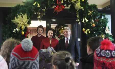 ФОТОГАЛЕРИЈА: Коледе во домот на семејството Иванови