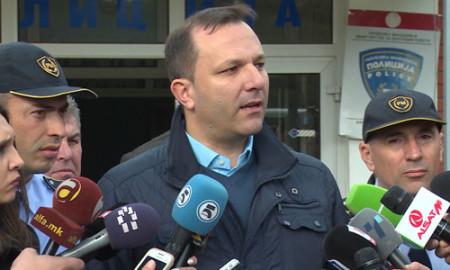 Спасовски:Немаше полициска акција, туку зголемено присуство на полицијата во кумановско-скопскиот регион
