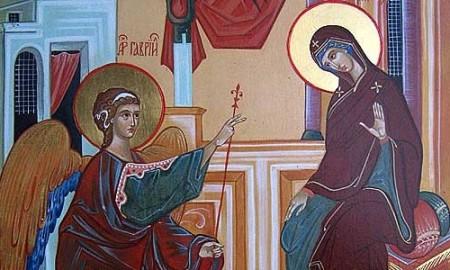 Свето Благовештение - Благовец, празник на радосната вест и на пролетната убавина