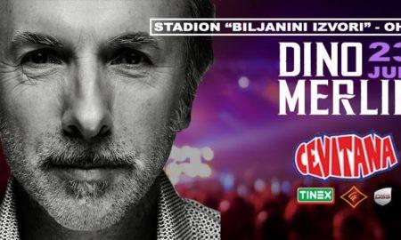 Дино Мерлин ќе руши рекорди во Охрид!