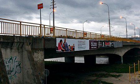"Затворен мостот ""Близнак"" поради пукната гасоводна цевка"