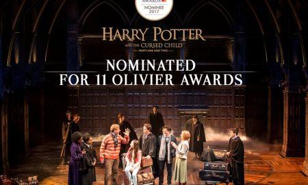 """Претставата Хари Потер апсолутен победник на доделувањето на """"Лоренс Оливие"""" наградите"""