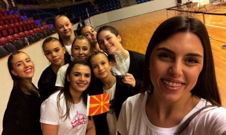 """ПЕТТИ ВО СВЕТОТ: Македонските танчери од клубот """"Аква"""" меѓу најдобрите на светското првенство во Данска"""