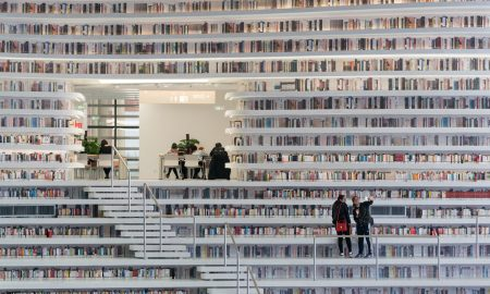 Отворена библиотека со 1.2 милиони книги (ФОТО)