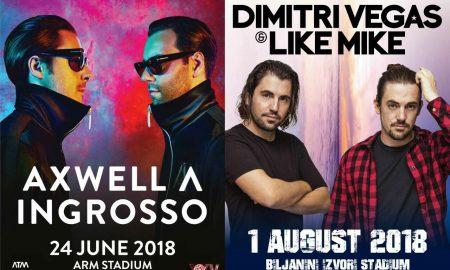 """ЕКСКЛУЗИВНО: Димитри Вегас и Лајк Мајк доаѓаат на """"Охрид колинг 2018"""""""