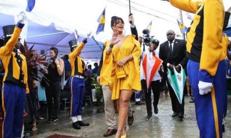 Улица во Барбадос именувана по пејачката Ријана