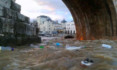 УХМР: По престанокот на дождовите притисокот врз реките и суводолиците се намалува