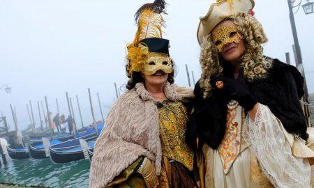 """""""Летот на ангелот"""" на отворањето на Венецијанскиот карневал (ВИДЕО)"""