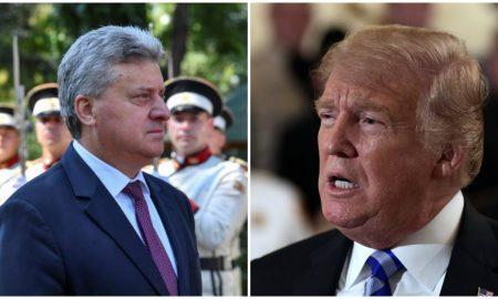 Трамп до Иванов: Договорот од Преспа го отвора патот до НАТО и ЕУ